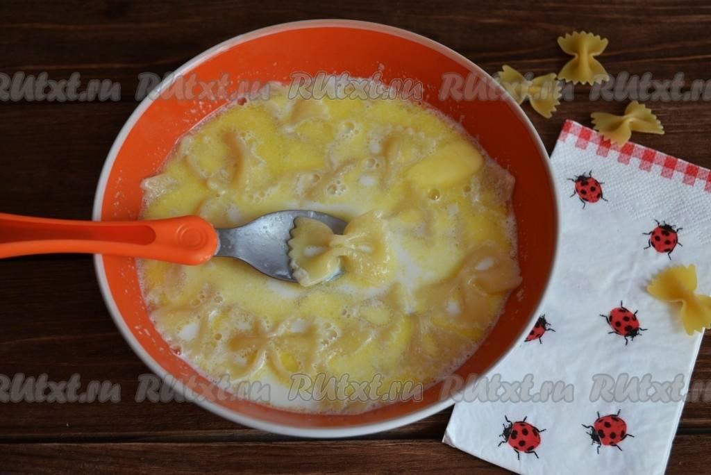 Молочная вермишель — рецепт для детей: варим суп-лапшу на молоке