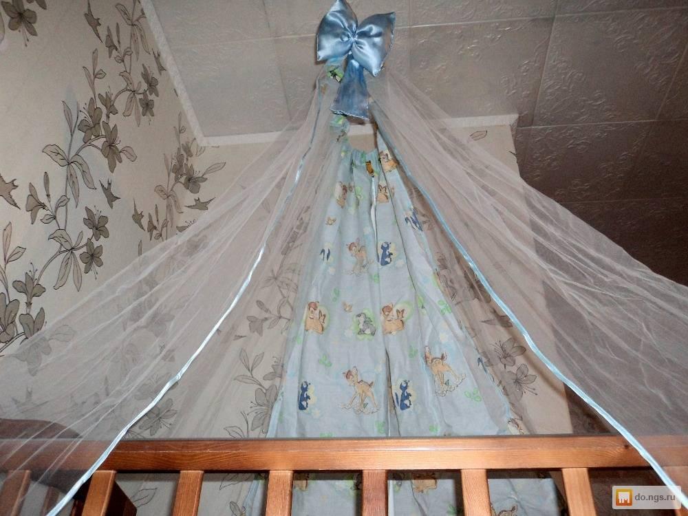 Балдахин на детскую кроватку своими руками пошагово: фото и мастер-класс