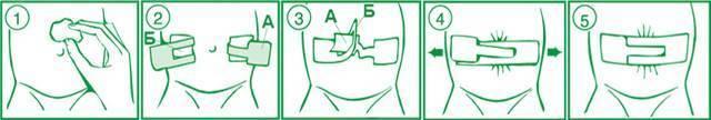 Специальный пластырь для пупочной грыжи для новорожденных