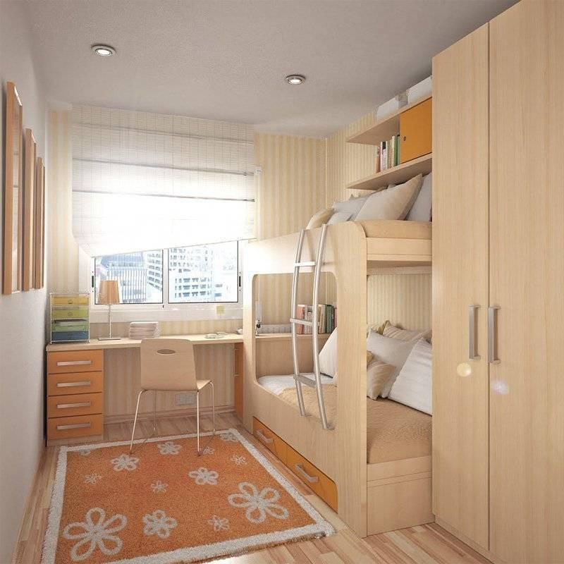 Основные правила оформления дизайна небольшой комнаты для ребенка