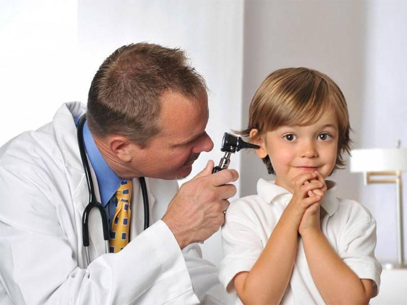 Проявления и причинные факторы отита у детей