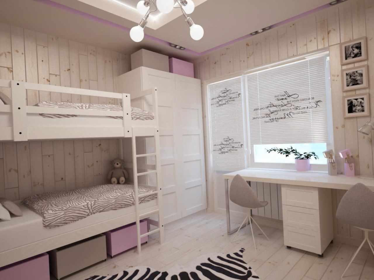Детская в хрущевке — 90 фото примеров оформления типовых детских комнат