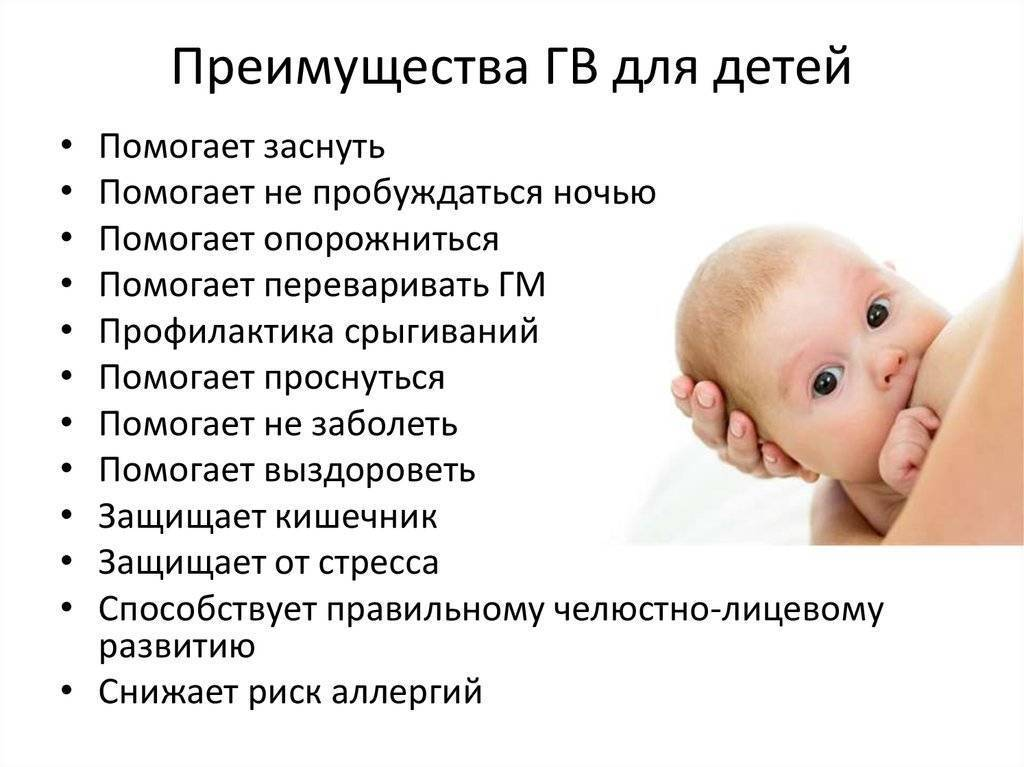Плюсы и минусы грудного вскармливания для здоровья и развития ребенка