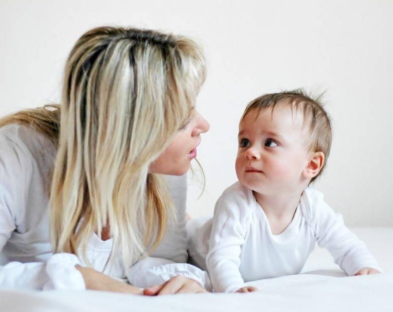 Когда дети впервые начинают говорить: определяемся с возрастом малыша для первых слов и целых предложений. как лучше всего назвать ребенка