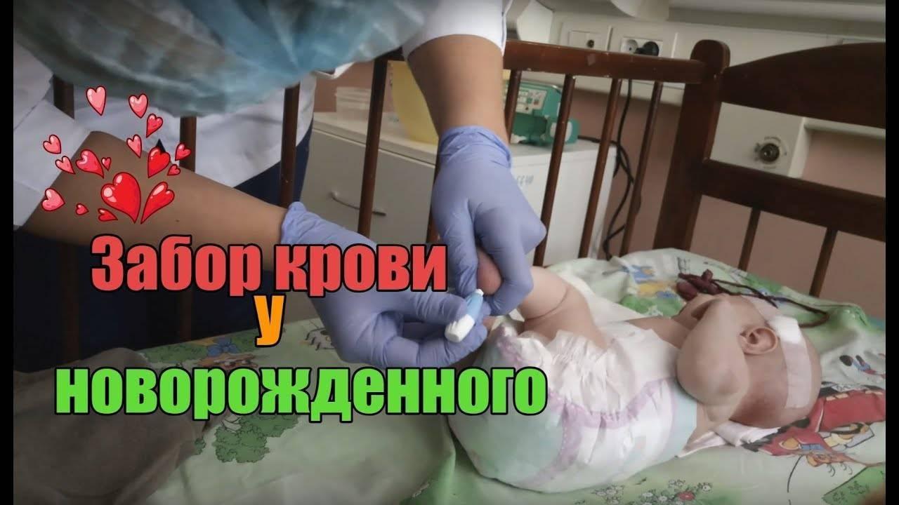 Как берут кровь из вены у грудничка — правила забора у новорожденных и годовалых детей - wikidochelp.ru
