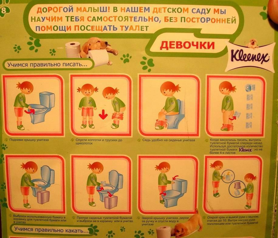Как научить ребенка самостоятельно вытирать попу. свои детки