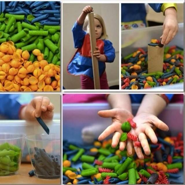 Игры для детей 2 лет с крупами. обзор игр с крупами и макаронами для детей разного возраста: мастер-класс по развитию мелкой моторики