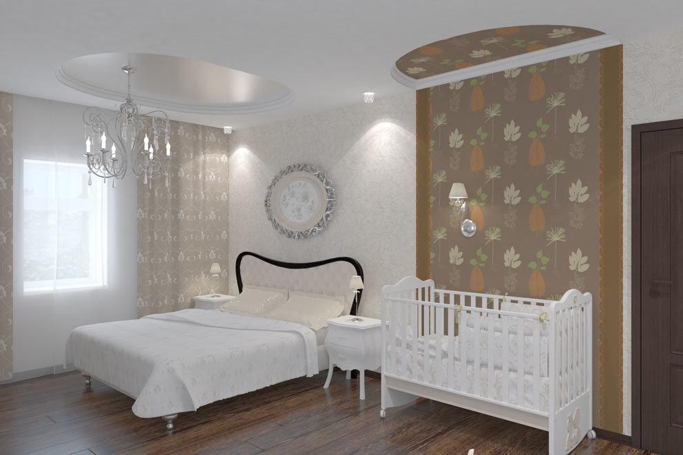 Спальня с детской – грамотное совмещение | интерьерные штучки