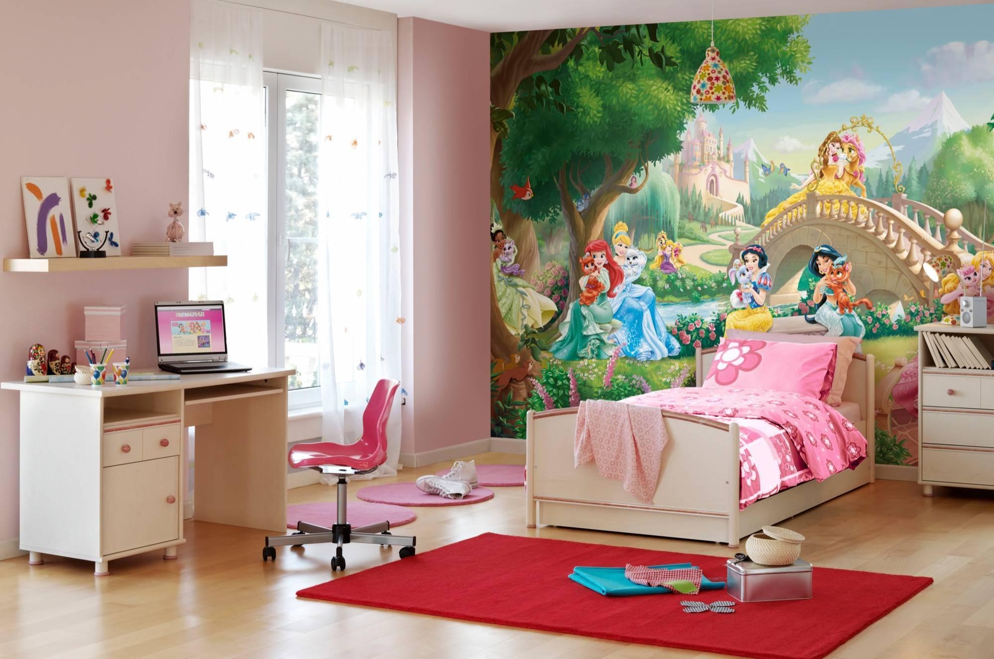 Современные обои в детской комнате | идеи для интерьера и дизайна