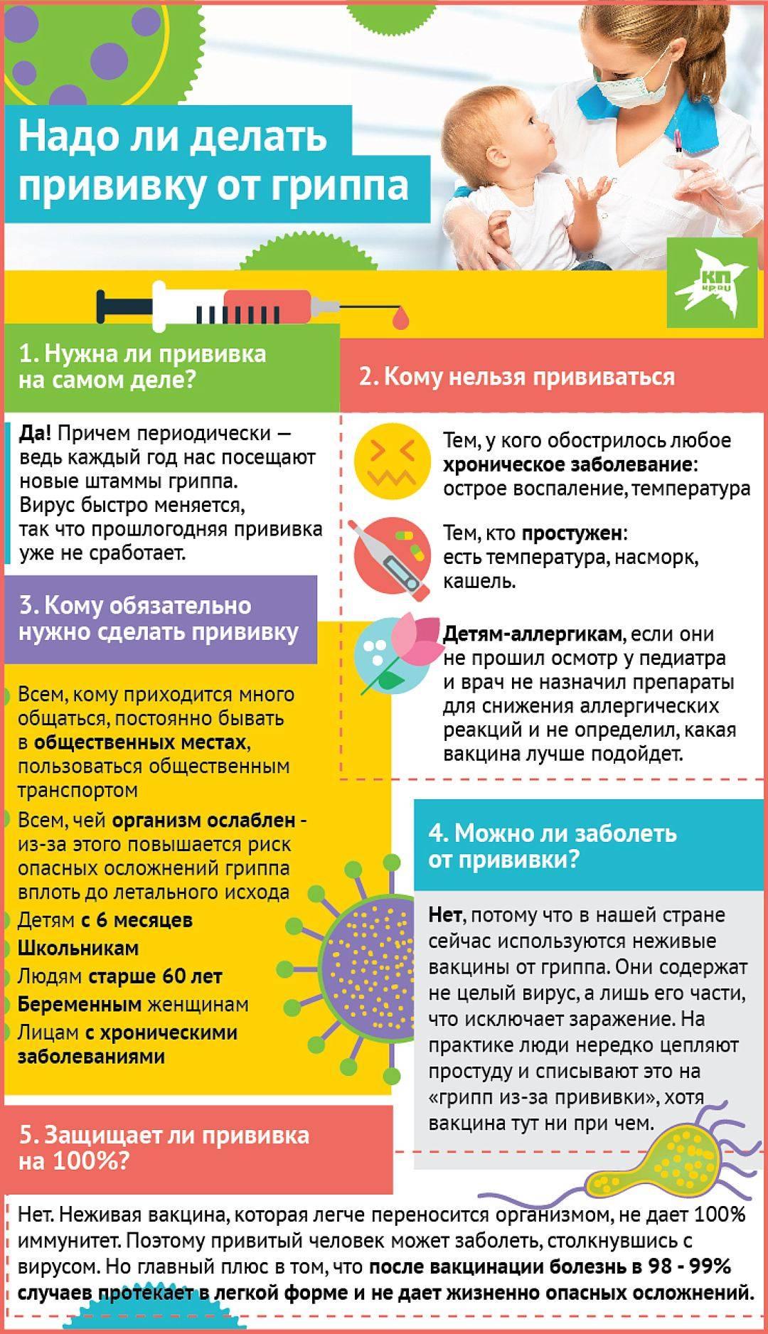 Делать ли прививки ребенку – все за и против