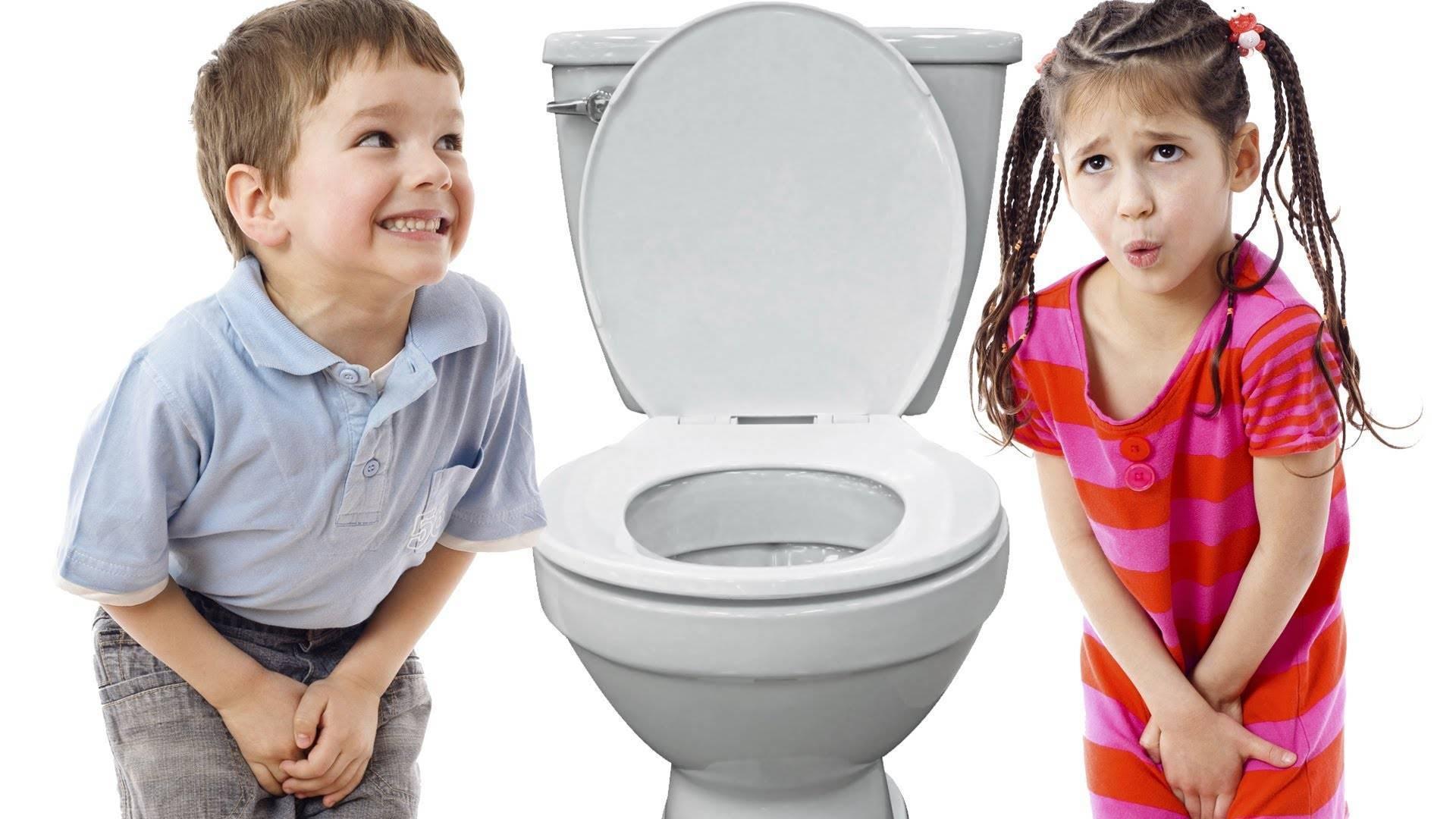 Ребенку больно писать: девочка и мальчик плачет перед мочеиспусканием