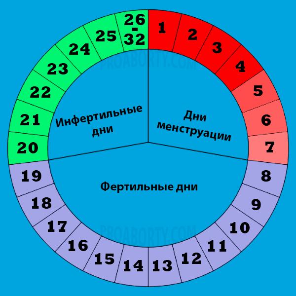 Как высчитать безопасные дни при регулярном цикле. какие дни считаются самыми опасными для зачатия