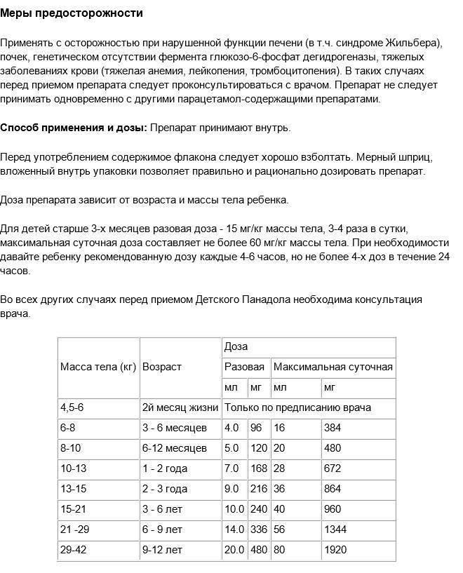 Парацетамол детям в таблетках: дозировка, инструкция по применению при температуре | препараты | vpolozhenii.com