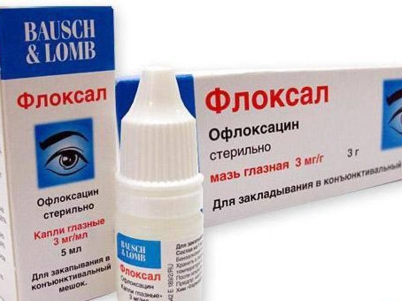 Флоксал мазь глазная - инструкция для детей, цена, отзывы