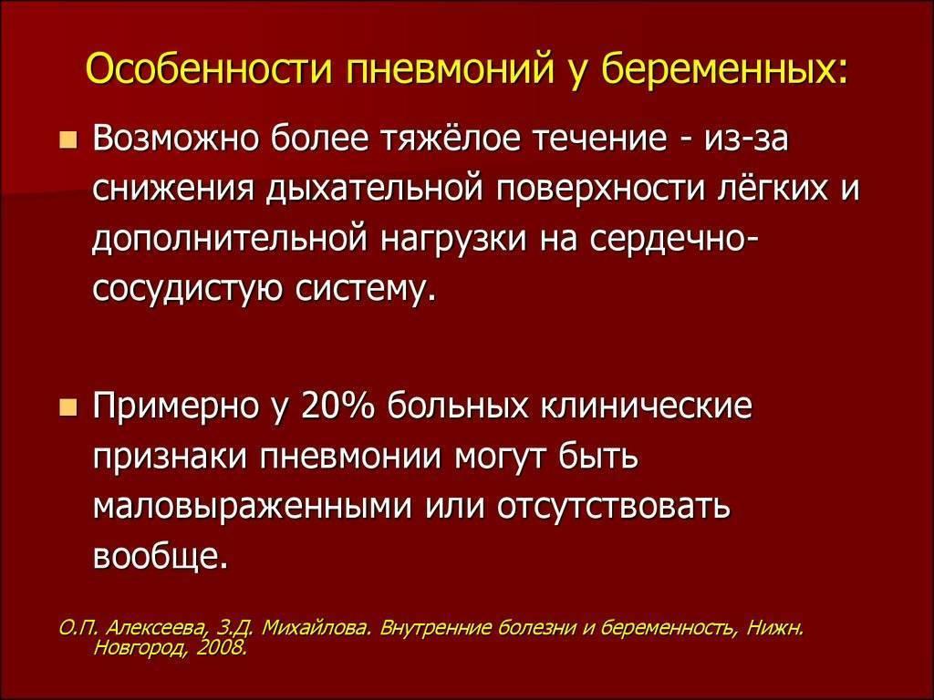 Пневмония у беременных: симптомы, лечение, последствия / mama66.ru