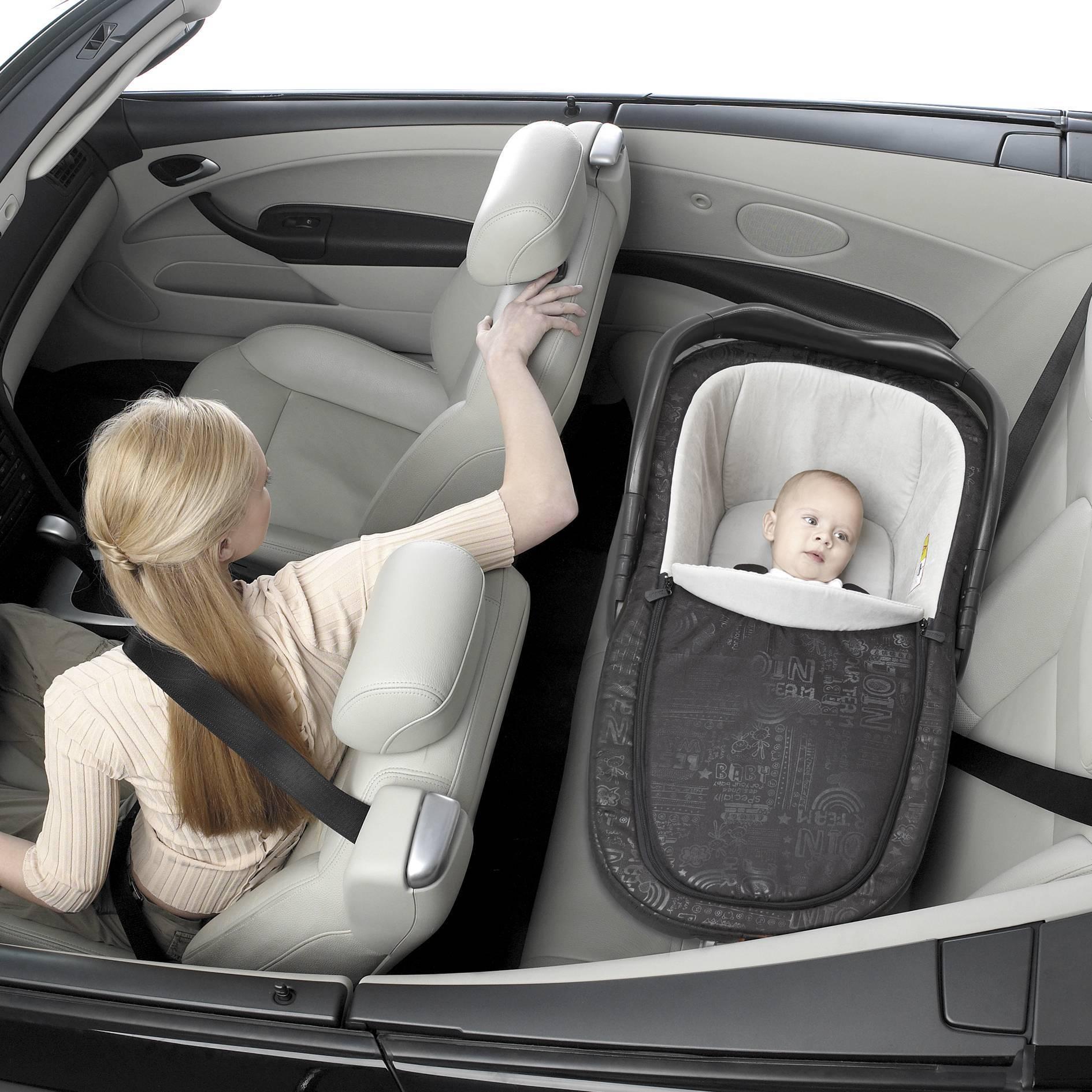 Перевозка новорожденного в автомобиле — автокресла и автолюльки — семья и ребенок