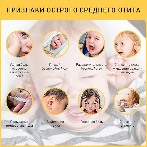 Катаральный отит у ребенка: симптомы и лечение, методы диагностики