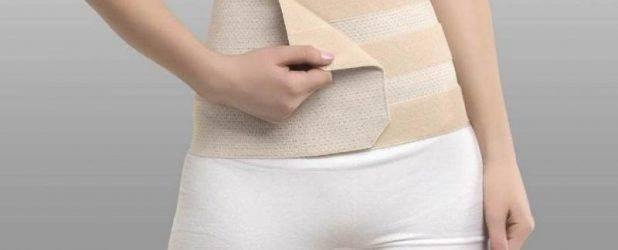 Как правильно перевязать пеленкой живот после родов