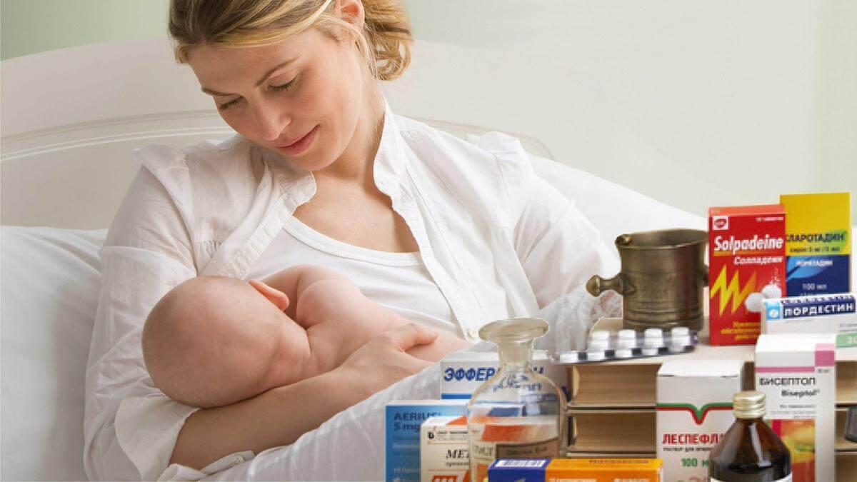 Если у мамы температура можно ли кормить ребенка грудным молоком если у мамы