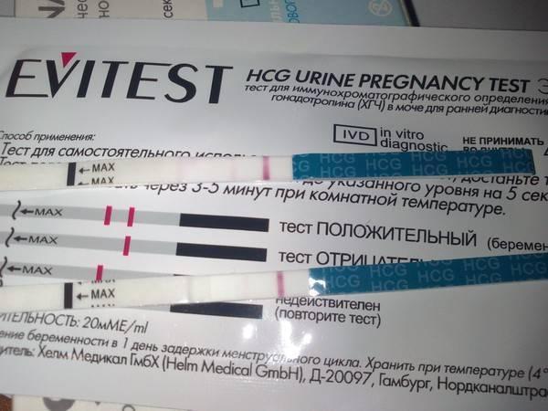 Может ли тест быть отрицательным при беременности