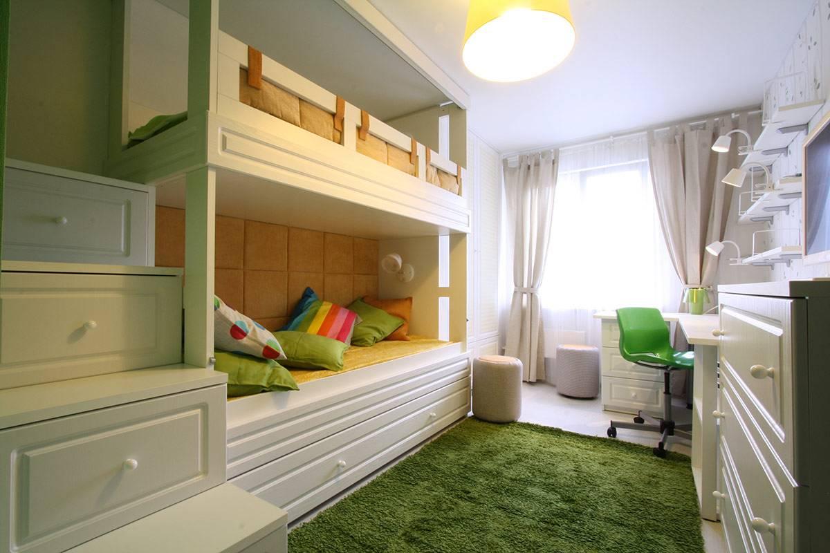 Комната для двух подростков, мальчиков или девочек: дизайн, зонирование, оформление