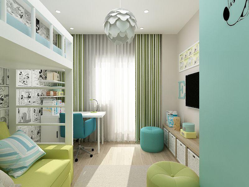 Детская комната в хрущевке - фото и примеры интерьера