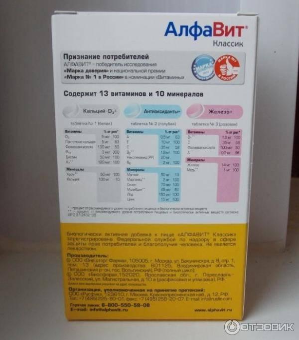 Стоит ли принимать витамины алфавит для беременных