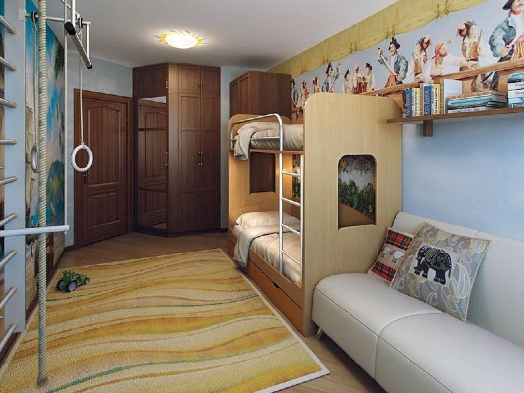 Детская комната 6 кв. метров – 25 фото и дизайн-подсказки