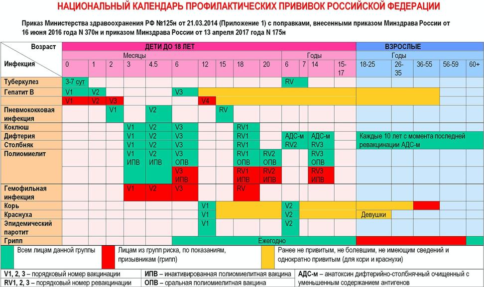 Прививка Превенар 13 - от чего эта вакцина, инструкция по применению, схема вакцинации