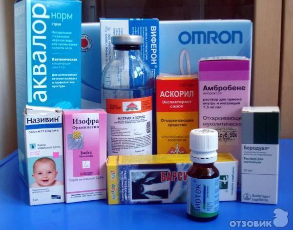 Какие антибиотики давать детям при простуде (орз)?