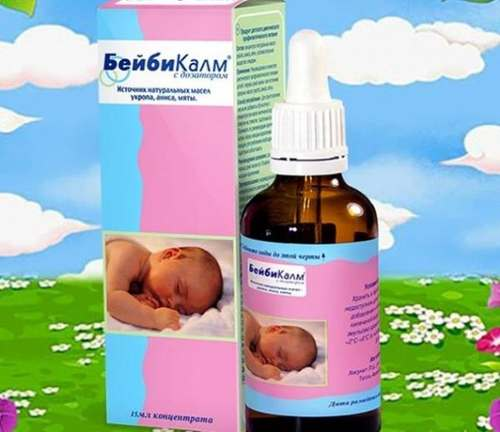 Как правильно применять бебикалм для новорожденных