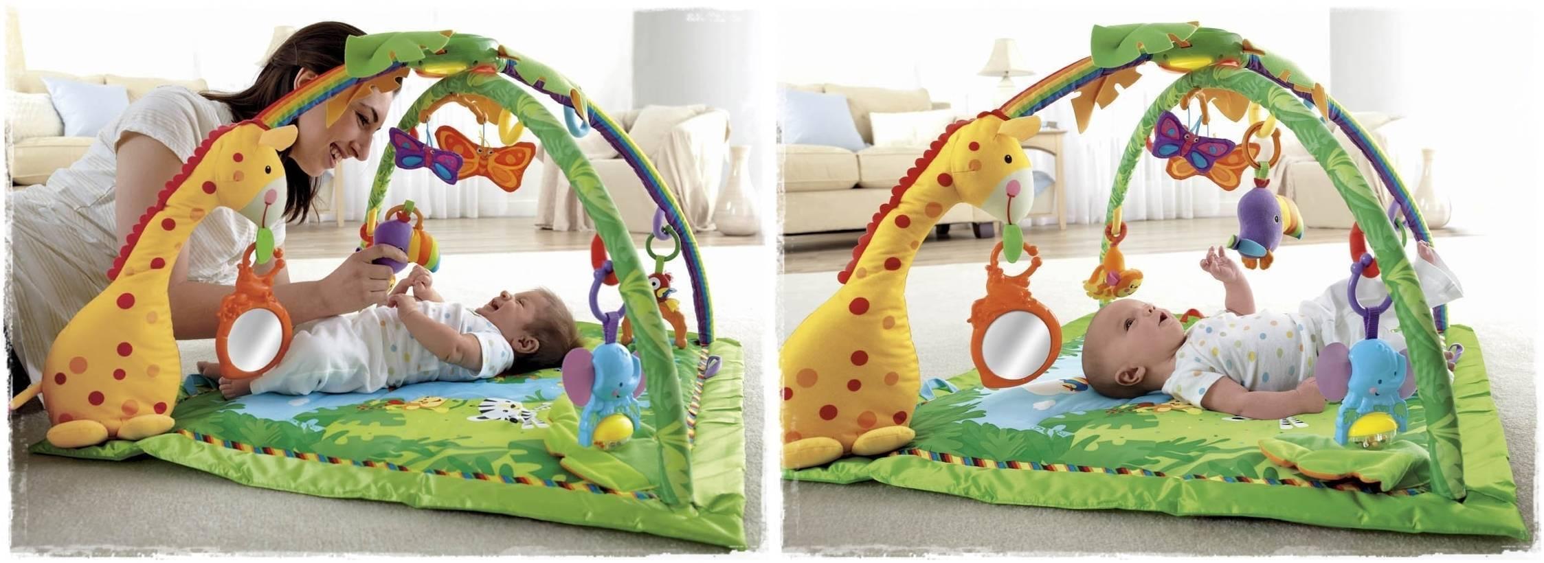 Что такое развивающий коврик? с какого возраста он нужен ребенку?