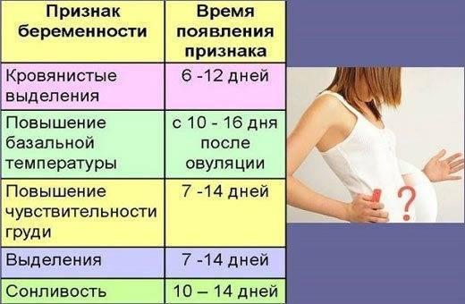Как определить беременность без теста | уроки для мам