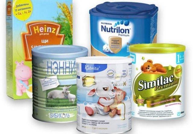 Детские молочные смеси на козьем молоке — топотушки