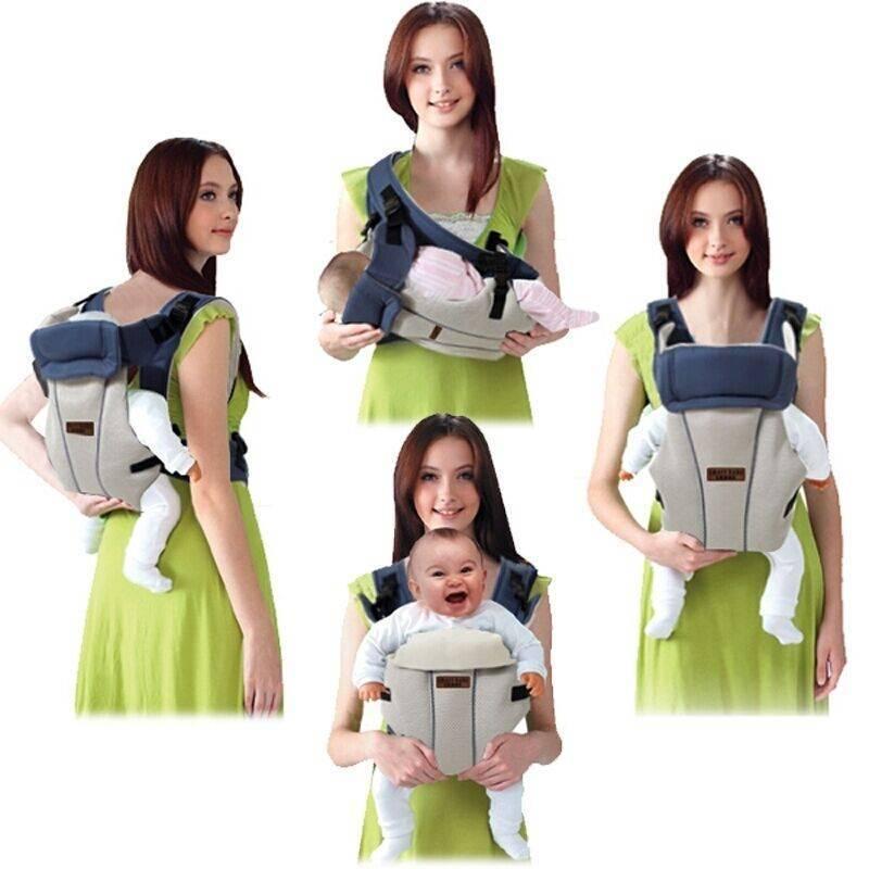 Переноска для новорожденных на себе, сумка кенгуру, рюкзак-люлька, слинг, горизонтальная