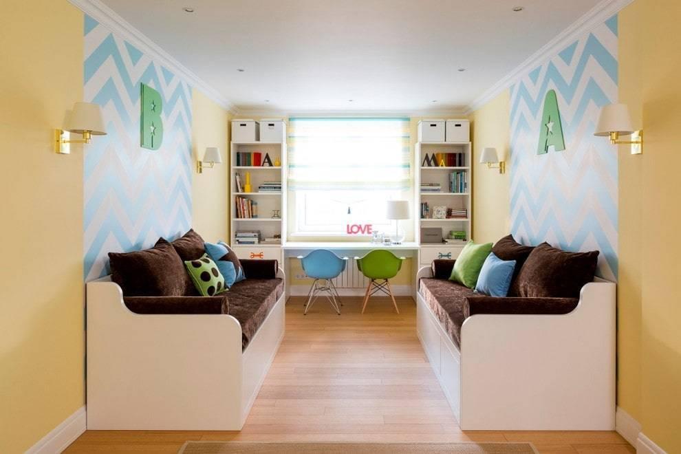 Дизайн детской комнаты в хрущевке | 60 идей
