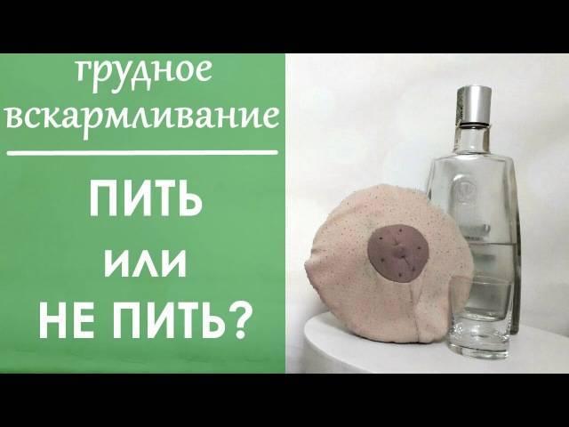 Можно ли вино при грудном вскармливании?