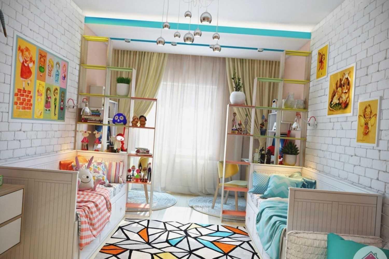 Детская 12 кв. м.: 105 фото современных интерьеров для мальчиков и девочек