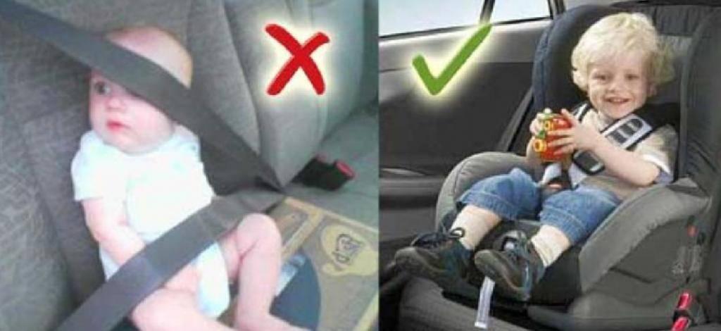 Правила перевозки детей в машине: со скольки лет можно возить ребенка без кресла