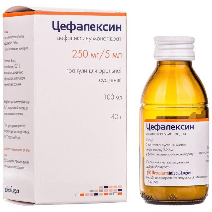Цефалексин – инструкция по применению, аналоги, дозы, показания