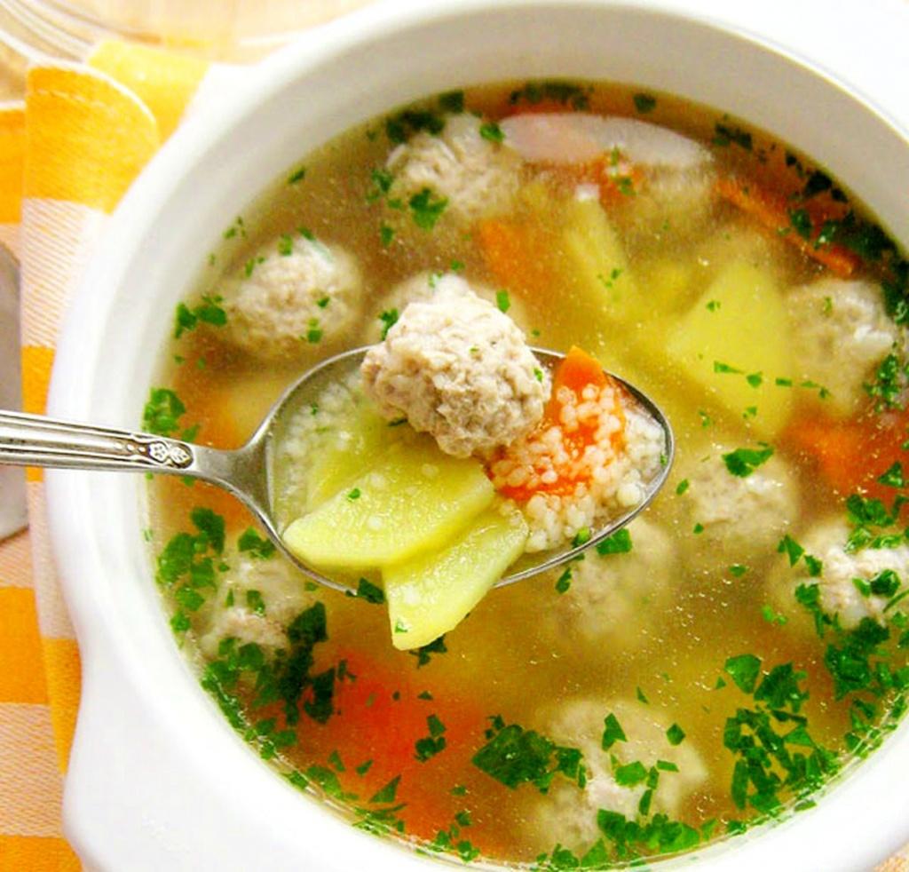 Рыбный суп для детей от года