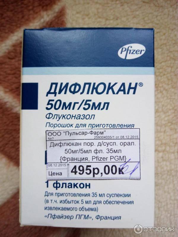 Дифлюкан суспензия инструкция по применению для детей - инфекцияинфо