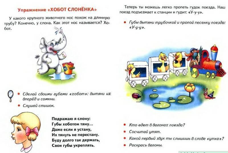 Логопедические занятия для детей 3 4 лет: правила речевого развития