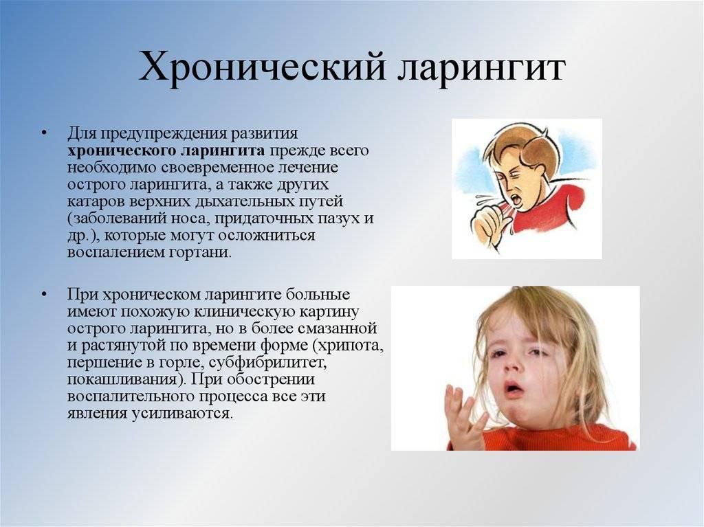 Ларингит - симптомы и лечение у взрослых в домашних условиях, как лечить хронический ларингит, что это такое