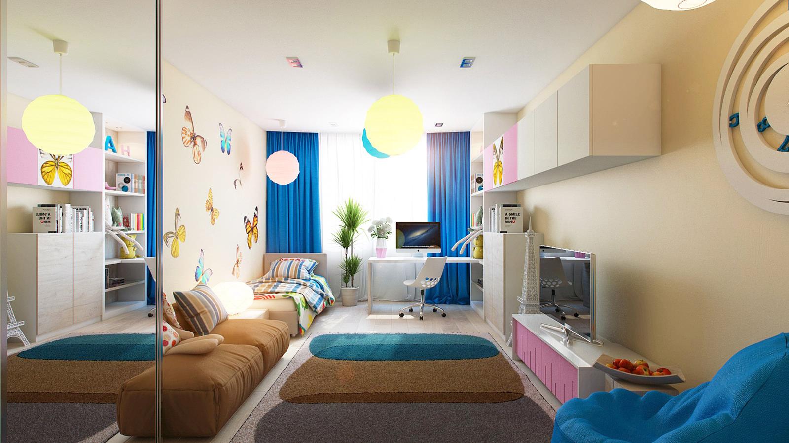 Ремонт детской комнаты для мальчика:фото, тема, интерьер, рекомендации