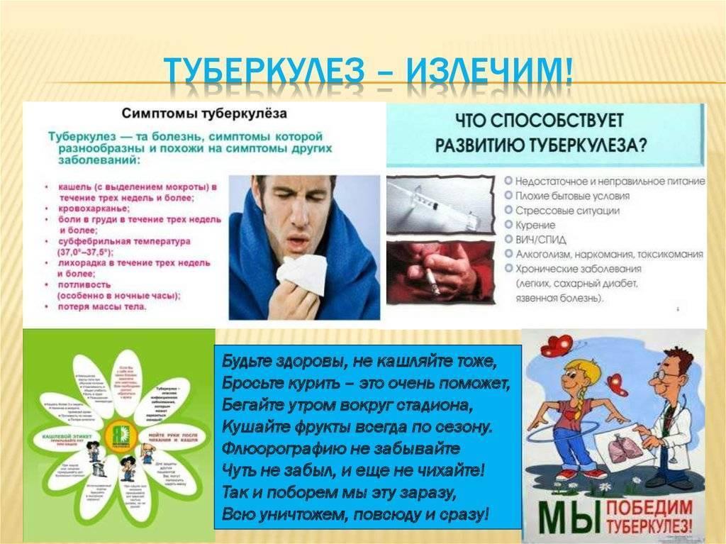 Туберкулез: симптомы, первые признаки у детей