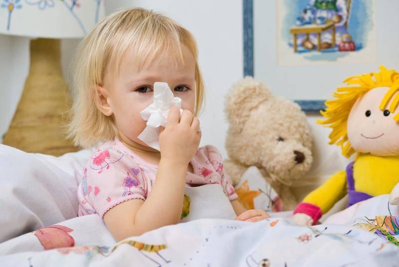 Из-за чего ребенок часто болеет орви