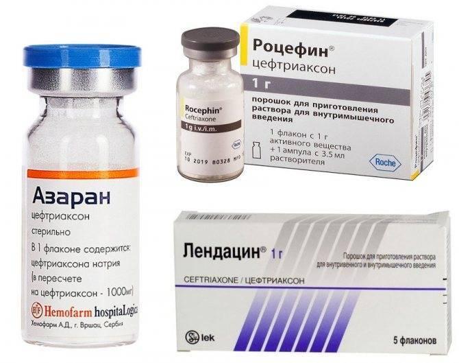 Препараты цефотаксим или цефтриаксон: что лучше, чем отличаются