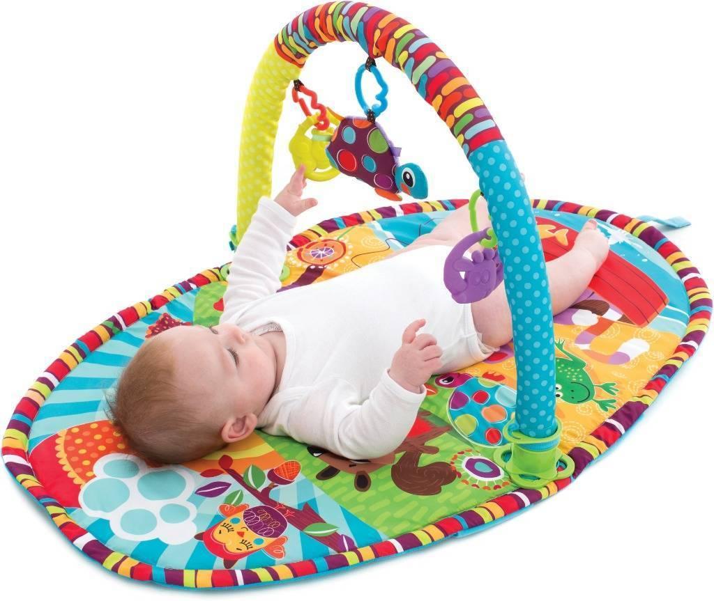 Развивающий коврик для детей от 0 до 3 лет – виды и преимущества