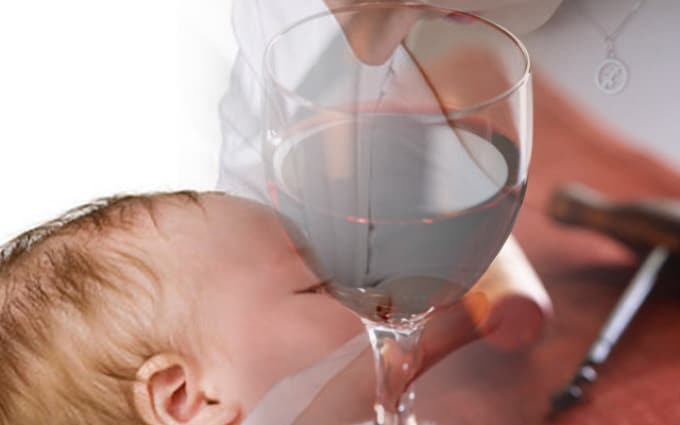 Алкоголь при грудном вскармливании: можно или нет, польза и вред
